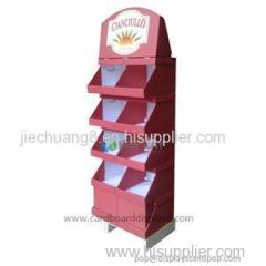 Custom Store Retail Stationery Cardboard Card Stands For Food