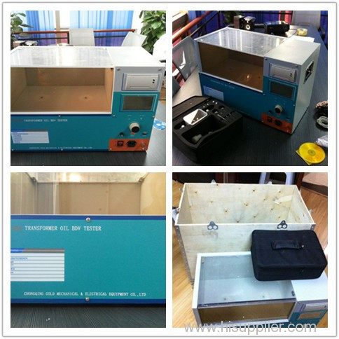 Insulating oil / transformer oil / mineral oil dielectric strength tester
