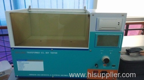 Insulating Oil BDV Tester