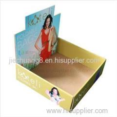 Recycle And Environmental Corrugated Counter Book Display