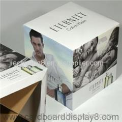 Retail Store POP Corrugated Cardboard Cubes with inserts