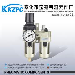 SMC Air source treatment air preparation two units combination air filter regulator