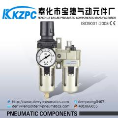 air source processing elements SMC Air source treatment