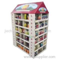 High Quality Corrugated Cardboard Pallet Display For Mugs