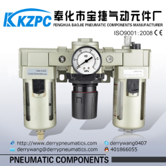3/4'' Air Source Treatment Unit- FRL Combination with Competitive Price