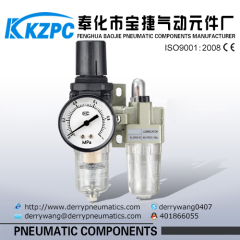 Airtac type regulator filter with lubricator SMC Air source treatment
