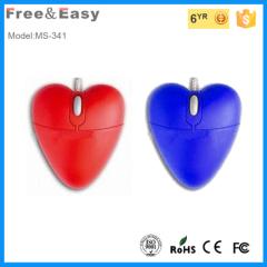 Magnetic gadgets mini optical heart shape mouse