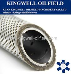High Permeability Metal Fiber Screen