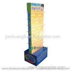 High Quality Cardboard Hook Displays For Little Gifts