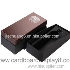 2015 Custom Decorative Cardboard Wine Gift Boxes