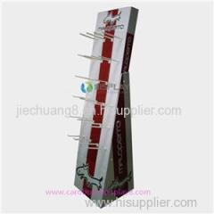 Customized Cardboard Display Hook Stand Supplier