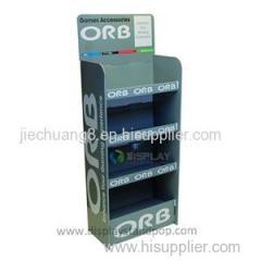 Retail Pop Corrugated Paper Medicine Display Racks