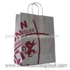 Custom Printed Paper Kraft Bags With Logo Design
