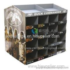 China Wholesale Cardboard Pallet Display Rack For Fishing Gear