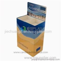 Hot Sale High Quality Biscuit Corrugated Pallet Display