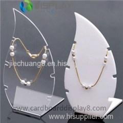 Luxury Custom Made Clear Acrylic Jewellery Displays