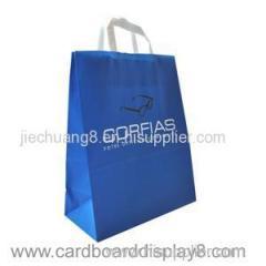 Customized Printing Full Color Cheap Kraft Paper Shopping Bag