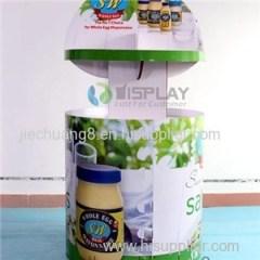Easily Installation Cardboard Display Bins Box For Hot Sale Food