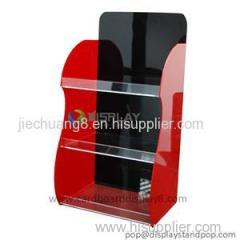 Customized Transparent Acrylic Display Shelf