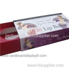 Full Color Print Lip Balm Box