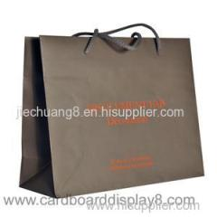 2015 New Recyclable Nature Color Kraft Paper Gift Bags
