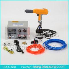 Portable Electrostatic Powder Coating Unit with Hopper