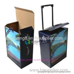 Good Quality Foldable Corrugated Paper Trolley Boxes