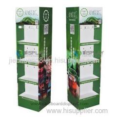 2014 Collapsible Paper Display Cardboard Stand For Tea