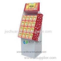 Colorful Printing Cardboard Medicine Display Rack