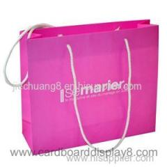 2015 New Recyclable Nature Color Kraft Paper Bag With OEM Logo