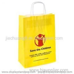 High Quality Recycled Kraft Paper Gift Bag