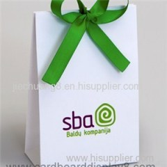 Customized High Quality Shopping Paper Bag For Cosmetics