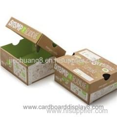 Custom Print Full Color Corrugated Paper Packaging Box