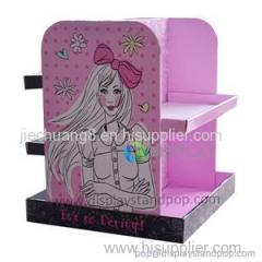 Promotional Retail Floor Display Stands For Makeups