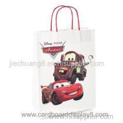 Custom Printed Kraft Paper Bag For Shopping