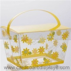 Clear PVC Box With Custom Design And Printing