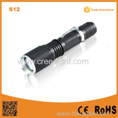 POPPAS S12 Led Torch Lamp 5-Mode T6 LED 400LM Torch Flashlight