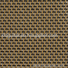 KLD British tan black grill cloth of spaeker cabinet