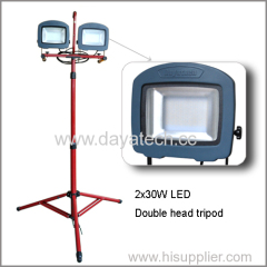 LED Flood Light with tripod