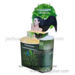 Promotion Custom 4C Printing Pallet Display Racks For Shampoo