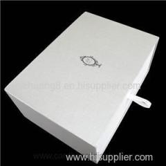 Eco-friendly High Quality White Drawer Box For Gifts