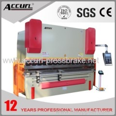 CNC Hydraulic Press Brake MB8-80T/2500 for Bending 4mm Steel Plate