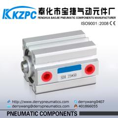 SDA 25*40 Aluminum Alloy AIRTAC Single Acting Air Thin Type Cylinder