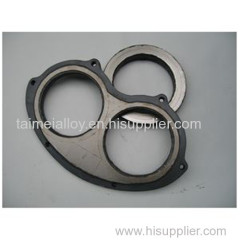 High quality tungsten wear plate and cutting ring