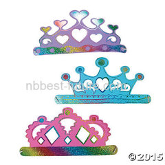 Magic scratch crown for party
