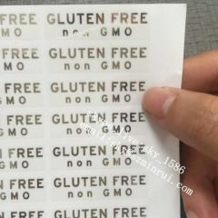 Transparent Clear Sticker Labels