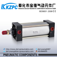 Airtact Type SC series Standard Pneumatic Cylinder