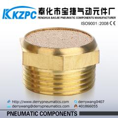 Hot Sell Pneumatic Silencer / BSLM Type Pneumatic Brass Muffler
