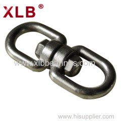Machining Various Size Forged Chain JIS Contacter Swivel Ring