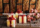 Gift Box Shaped LED Flameless Votive Candles / Beautiful LED Votives Light for Gifts